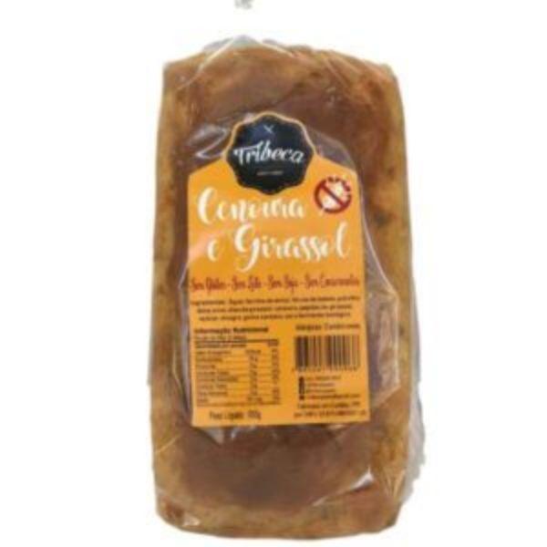 Pão De Cenoura E Girassol Sem Glúten 550gr - Tribeca