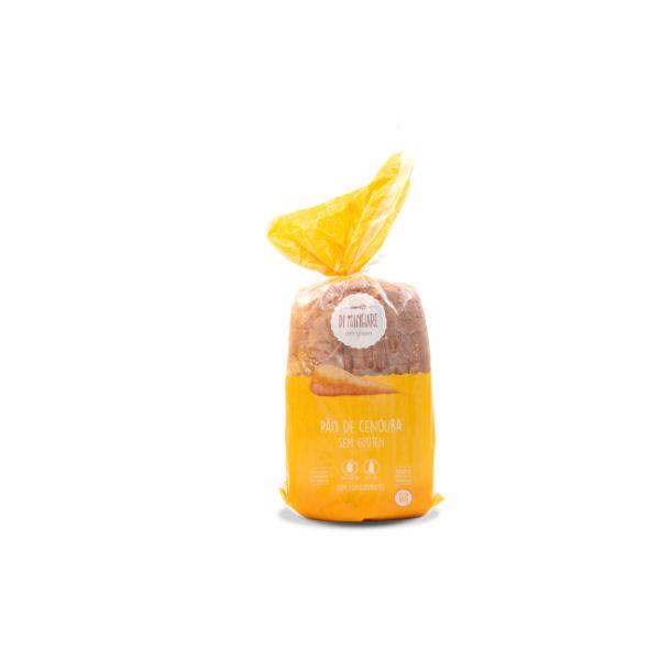 Pão De Cenoura Sem Glúten E Sem Lactose 450gr - Di Mangiare