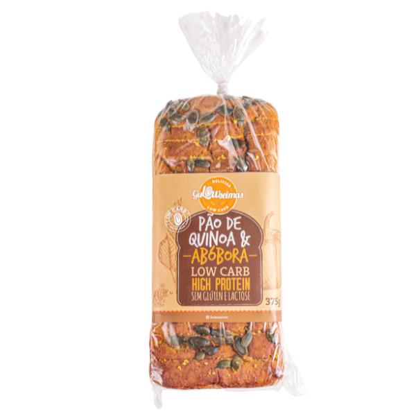 Pão De Quinoa E Abobora Low Carb 375gr - Gulowseimas