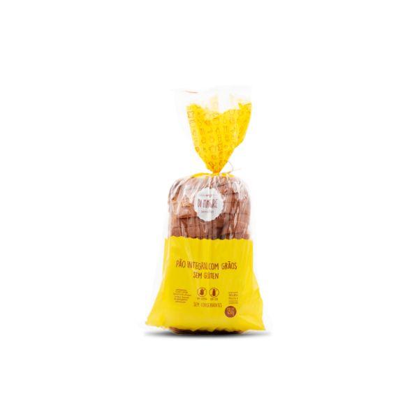 Pão Integral Com grãos Sem Glúten E Sem Lactose 450gr - Di Mangiare