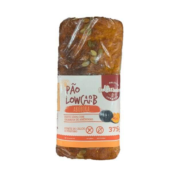 Pão Low Carb De Abobora  375gr - Gulowseimas