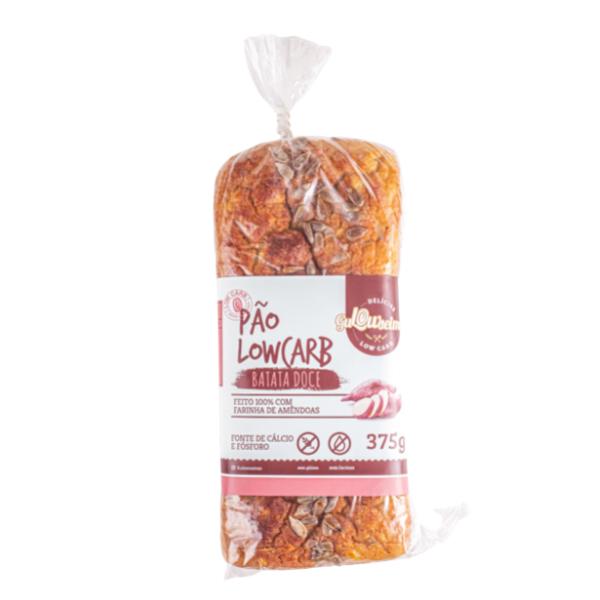 Pão Low Carb De Batata Doce 375gr  - Gulowseimas