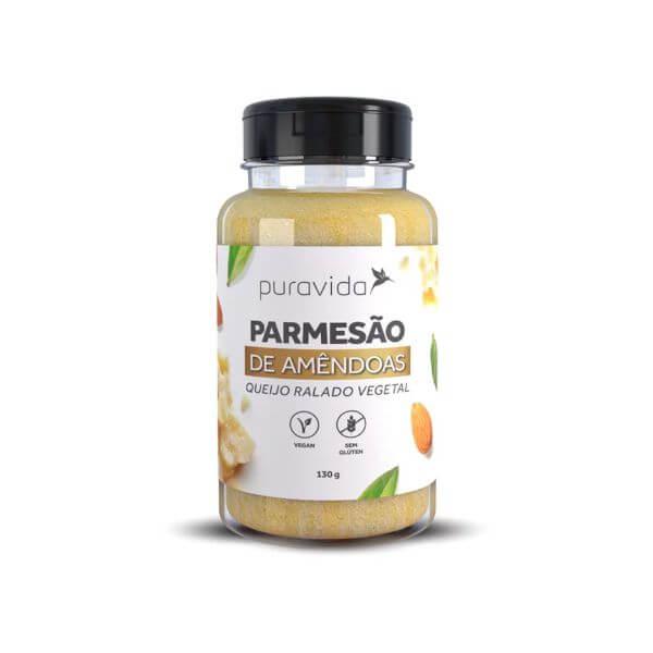 Parmesao De Amêndoas 130gr ( Levedura Nutricional ) - Pura Vida