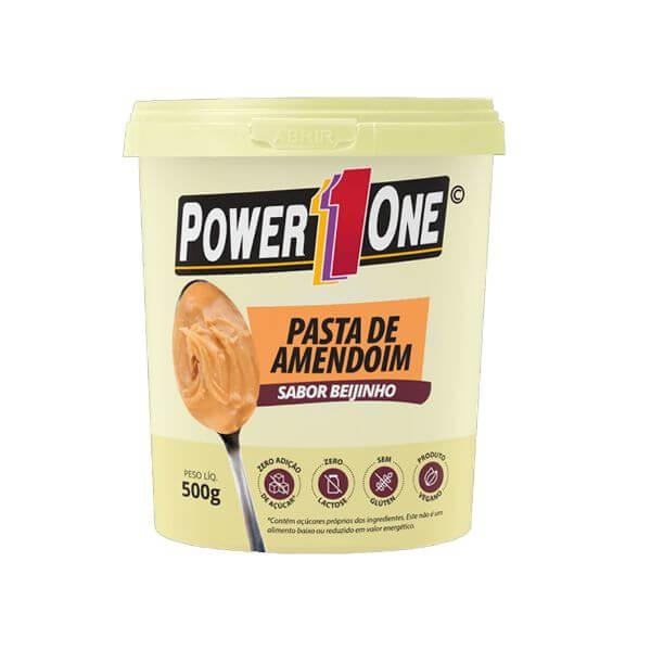 Pasta De Amendoim Beijinho 500gr - Power One