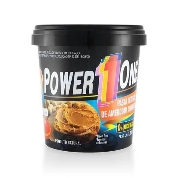 Pasta De Amendoim Natural 1Kg - Power One