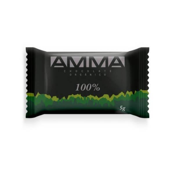 Pastilha De Chocolate Orgânico 100% 5G - Amma