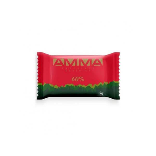 Pastilha De Chocolate Orgânico 60% 5G - Amma