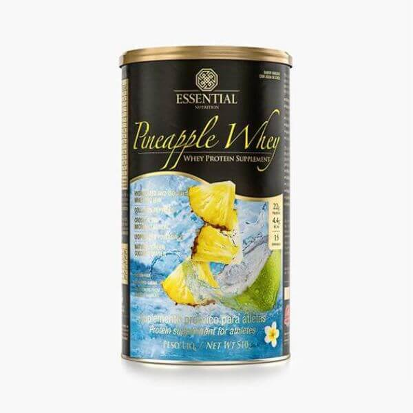 Pineapple Whey Lata 510gr - Essential Nutrition