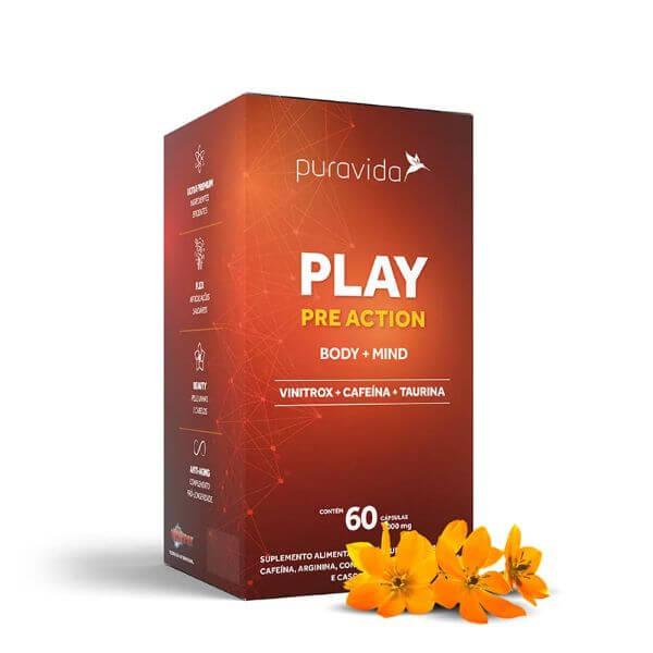 Play Pré Action 60 cáps - Pura Vida