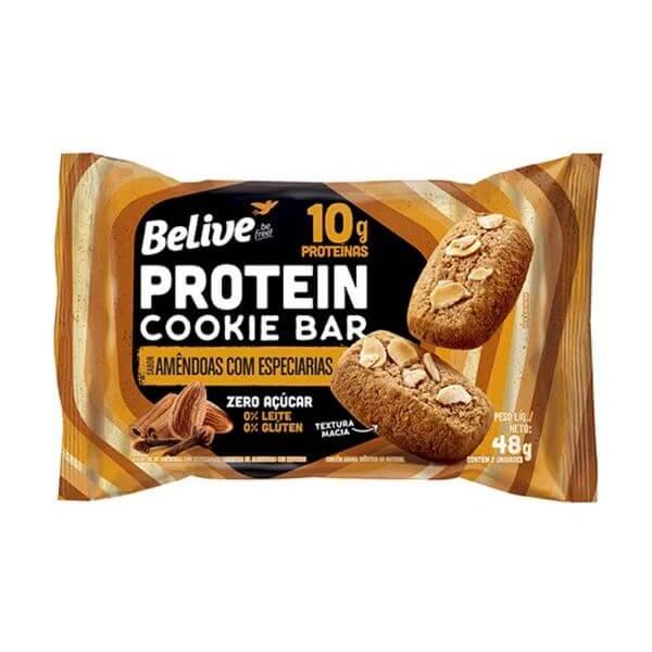 Protein Cookie Bar Belive Amendoas Com Especiarias - Belive