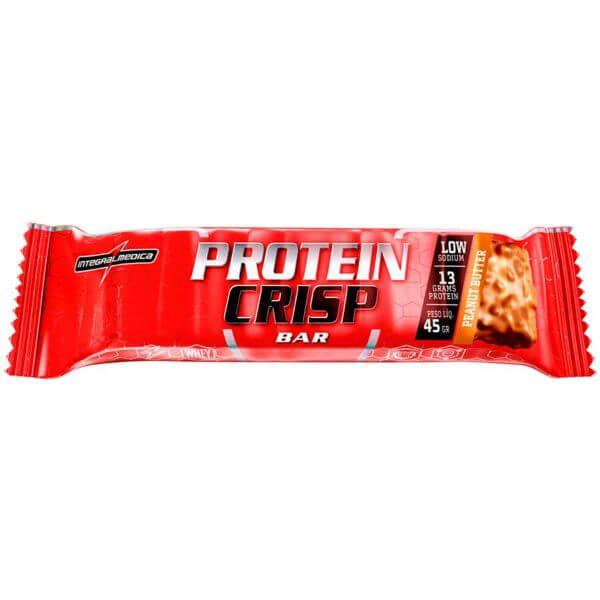 Protein Crisp Amendoim 45gr - Integral Medica