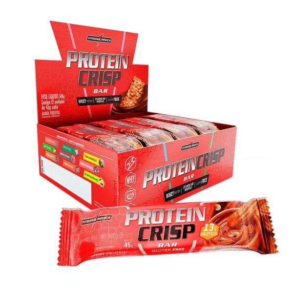 Protein Crisp Churros c/ Doce de Leite 45gr caixa com  12un - Integral Médica