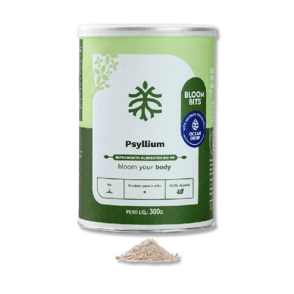 Psyllium Em Pó 300gr - Ocean Drop - Produto Para 1 Mês