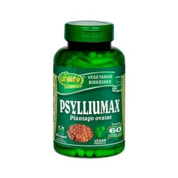 Psyllium Max 550mg 60 Cápsulas - Unilife