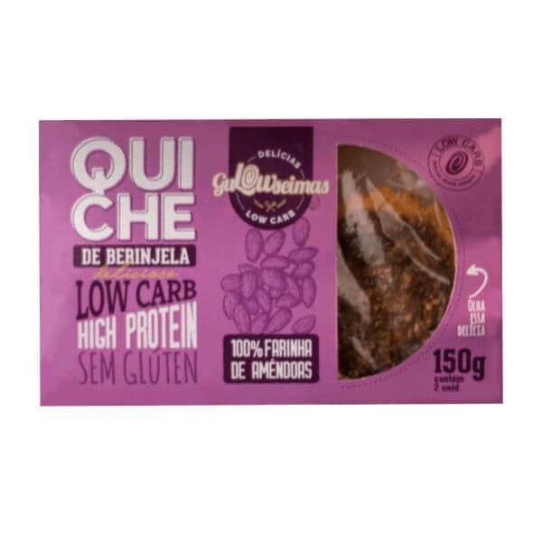 Quiche De Beringela Low Carb 150gr - Gulowseimas