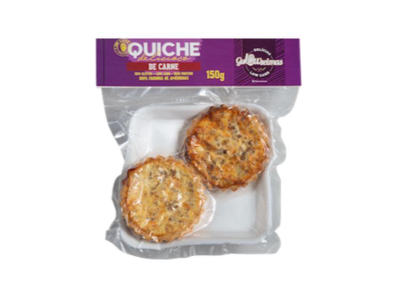 Quiche De Carne Low Carb  150gr - Gulowseimas
