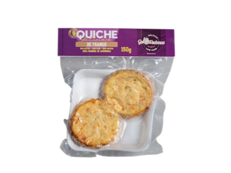 Quiche De Frango Low Carb 150gr - Gulowseimas