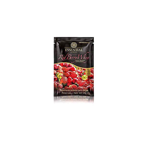 Red Berry Whey sachê 34gr - Essential Nutrition