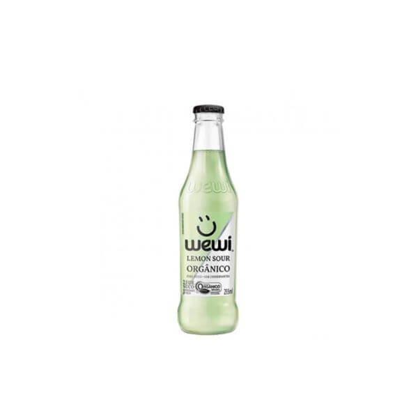 Refrigerante Orgânico Lemon Sour Sem Conservante 255ml - Wewi
