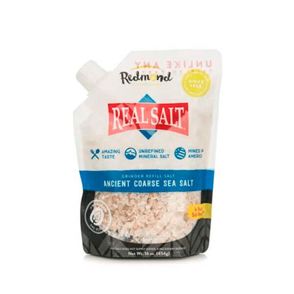 Sal Integral Grosso Pacote 454g - Real Salt