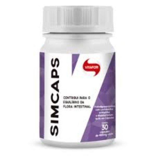 Simfort (Próbioticos) 30 Cápsulas De 400mg - Vitafor