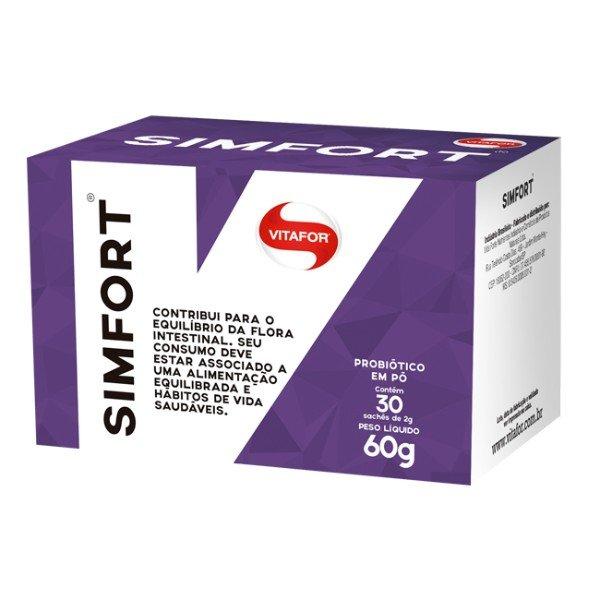 Simfort (Próbioticos) 30 Sachês De 5gr - Vitafor