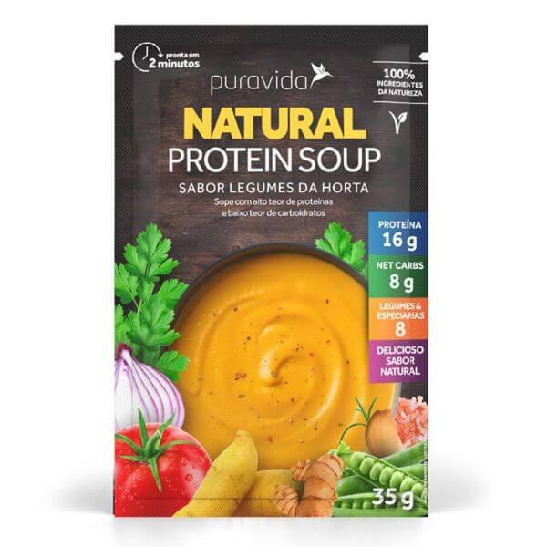 Sopa De Legumes Da Horta Sache - Pura Vida