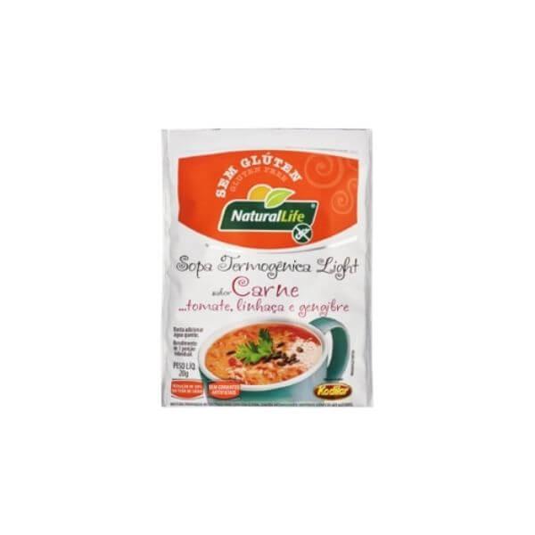 Sopa Termogênica De Carne 20gr - Natural Life