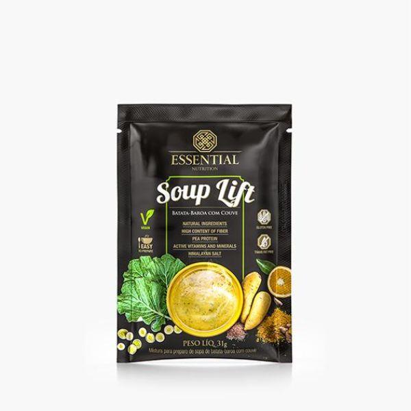 Souplift Vegana Creme De Batata Baroa Com Couve 31gr -Essential Nutrition