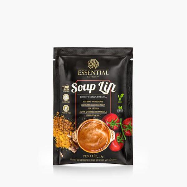 Souplift Vegana Tomate Com Cúrcuma 35gr - Essential Nutrition