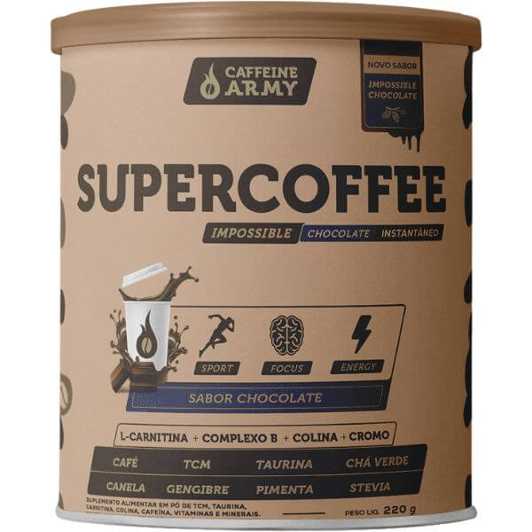 SuperCoffe Impossible Chocolate 220gr - Caffeine Army