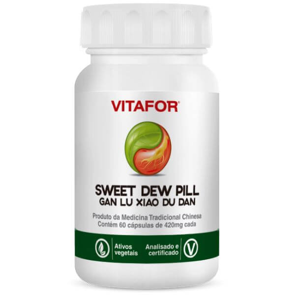 Sweet Dew Pill (gan Lu Xiao Du Dan) 60 Cápsulas - Vitafor