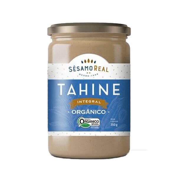 Tahine Integral Organico 350g - Sesamo Real