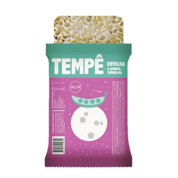 Tempe de Ervilha com Quinoa Vermelha 275G - Mun Artesanal