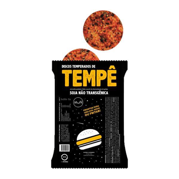Tempe Disco Soja  - Mun Artesanal