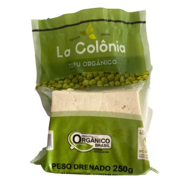 Tofu Orgânico 250gr - La Colônia