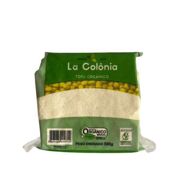 Tofu Orgânico 500gr - La Colônia