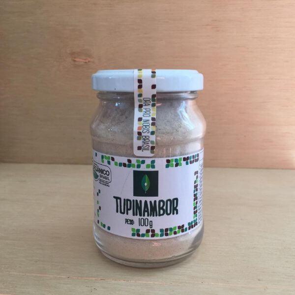 Tupinambor em Pó Orgânico 100gr - Ora Pro Nobis Brasil