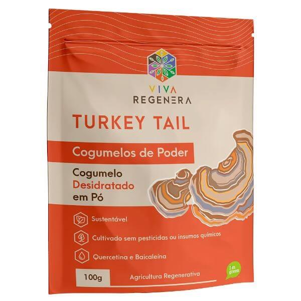 Turkey Tail Cogumelos de Poder 100gr - Viva Regenera