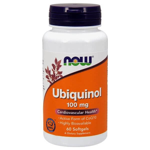 Ubiquinol CoQ10 60 Capsulas de 100mg - Now