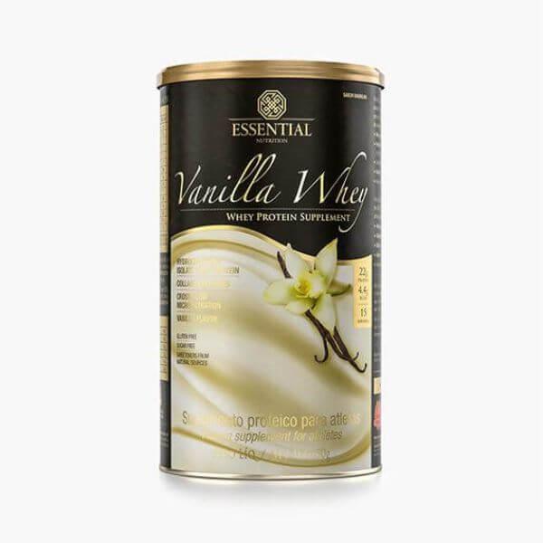Vanilla Whey Lata 450gr - Essential Nutrition