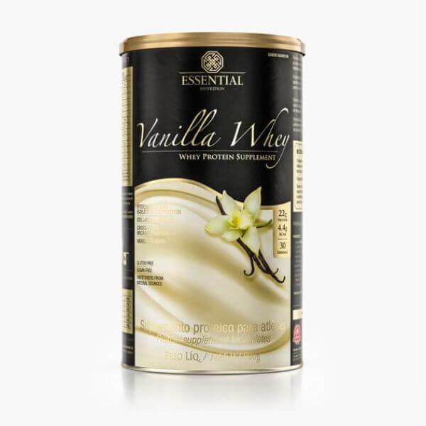 Vanilla Whey Lata 900gr - Essential Nutrition