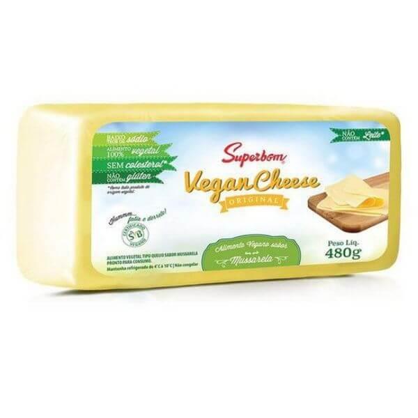 Vegan Cheese Mussarela 480gr - SuperBom
