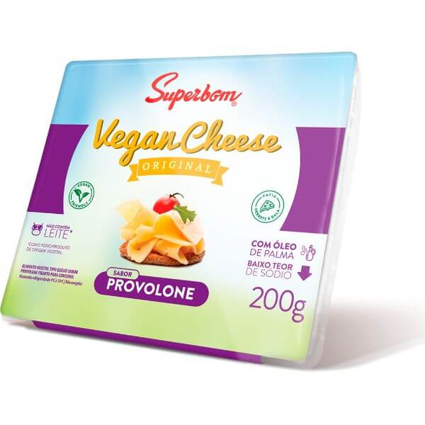 Vegan Cheese Provolone 200gr - SuperBom