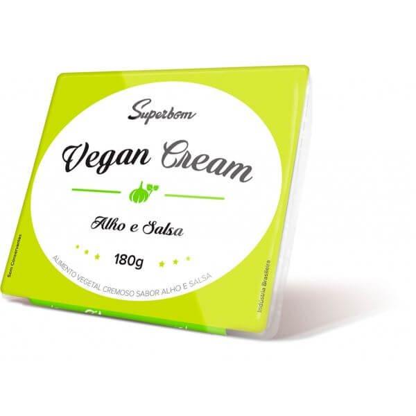 Vegan Cream Alho e Salsa - SuperBom