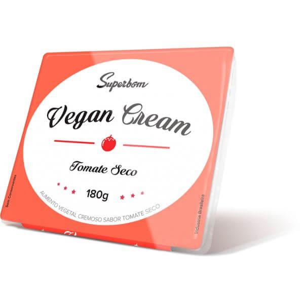 Vegan Cream Tomate Seco 180gr - Superbom