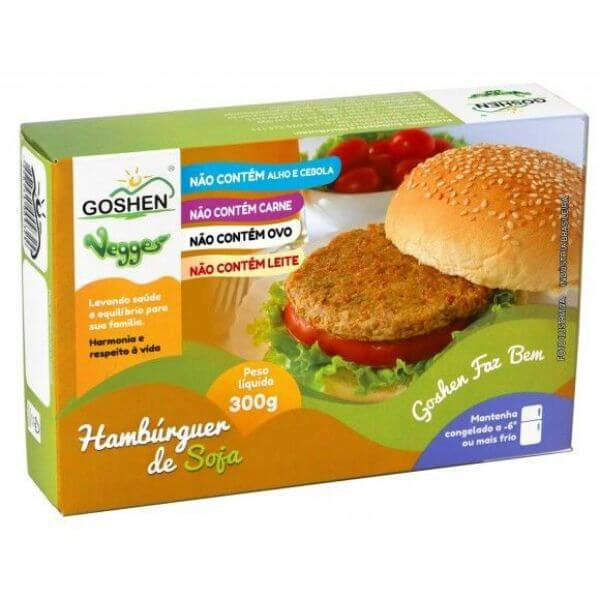 Vegges Hambúrguer de Soja 300gr - Goshen