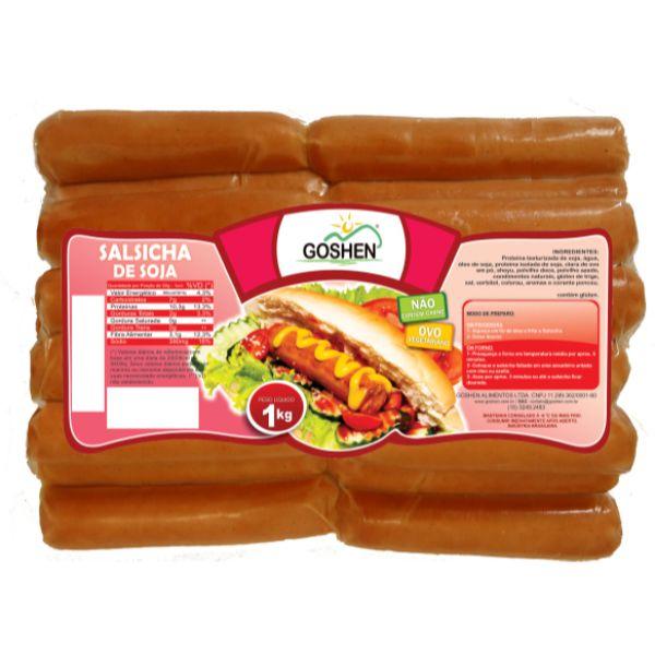 Vegges Salsicha 1kg - Goshen