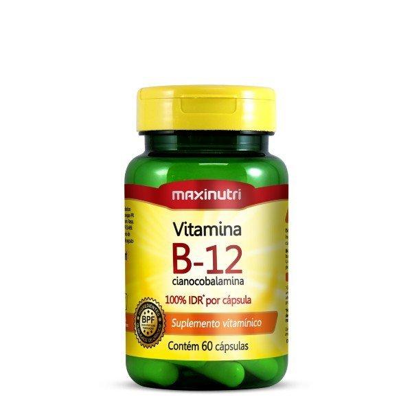 Vitamina B-12 60 Cápsulas - Maxinutri