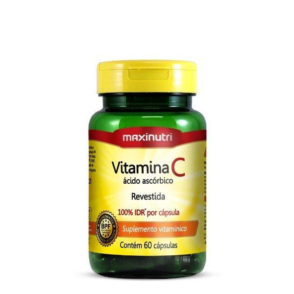 Vitamina C Revest 100% Idr 60 Cápsulas De 45mg  - Maxinutri